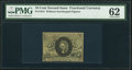 Fractional Currency:Second Issue, Fr. 1244 10¢ Second Issue PMG Uncirculated 62.. ...