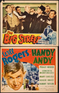 "Movie Posters:Comedy, Handy Andy & Other Lot (Fox, 1934). Fine+. Title Lobby Card & Lobby Card (11"" X 14""). Comedy.. ... (Total: 2 Items)"