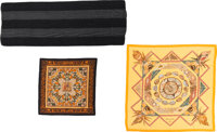 Hermès Set of Three: Silk and Cashmere Scarves Condition: 2 See Extended Condition Report for Siz... (Total: 3)