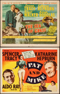 """Movie Posters:Comedy, Pat and Mike & Other Lot (MGM, 1952). Fine/Very Fine. Title Lobby Cards (2) (11"""" X 14""""). Comedy.. ... (Total: 2 Items)"""