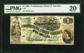 Confederate Notes:1862 Issues, T45 $1 1862 PF-2 Cr. 342 PMG Very Fine 20.. ...