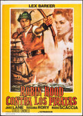 """Movie Posters:Foreign, Robin Hood and the Pirates (Independent, 1960). Folded, Very Fine+. Argentinean One Sheet (21"""" X 29""""). Foreign.. ..."""