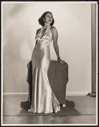 """Loretta Young by Russell Ball (Mid-1930s). Very Fine. Photo (11"""" X 14""""). Miscellaneous"""