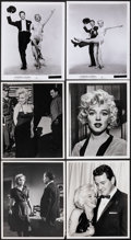 "Movie Posters:Miscellaneous, Marilyn Monroe Lot (1950s-1980s). Overall: Fine/Very Fine. Photos (15), Restrike Negative, & Restrike Photo (7"" X 9"", 7.75"" ... (Total: 17 Items)"