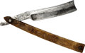 Political:3D & Other Display (pre-1896), Andrew Jackson: Pictorial Straight Razor....