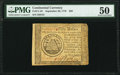 Continental Currency September 26, 1778 $50 PMG About Uncirculated 50