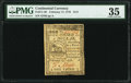 Colonial Notes:Continental Congress Issues, Continental Currency February 17, 1776 $1/3 PMG Choice Very Fine 35.. ...
