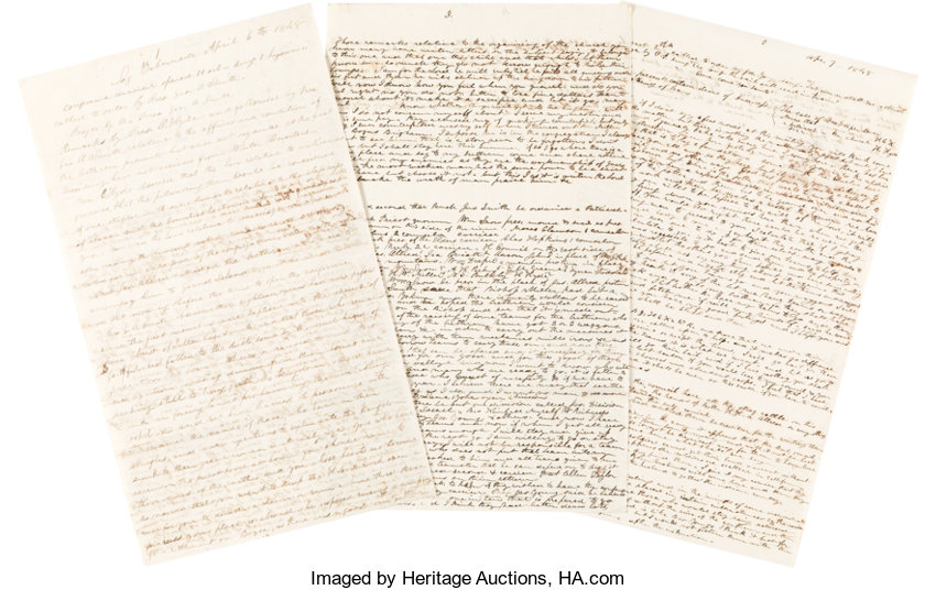 Books:Religion & Theology, [Mormon Church]. [Original Holograph Manuscript of Minutes for a General Conference]. [Place of production not identified, t...