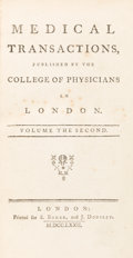"""Books:Medicine, William Heberden. """"Some Account of a Disorder of the Breast."""" in Medical Transactions, Published by the College of Physi..."""