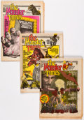 Magazines:Horror, The Monster Times Group of 13 (The Monster Times Publishing Co., 1972-74) Condition: Average FN/VF.... (Total: 13 Comic Books)