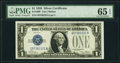 Small Size:Silver Certificates, Fr. 1600 $1 1928 Silver Certificate. PMG Gem Uncirculated 65 EPQ.. ...