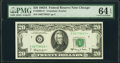 Small Size:Federal Reserve Notes, Fr. 2066-G* $20 1963A Federal Reserve Star Note. PMG Choice Uncirculated 64 EPQ.. ...