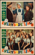 """Movie Posters:Musical, Everybody Sing (MGM, 1938). Overall: Fine/Very Fine. Lobby Cards (2) (11"""" X 14""""). Musical.. ... (Total: 2 Items)"""