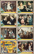 """Movie Posters:Musical, For Me and My Gal (MGM, 1942). Fine-. Lobby Card Set of 8 (11"""" X 14""""). Musical.. ... (Total: 8 Items)"""