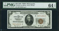 Fr. 1870-I $20 1929 Federal Reserve Bank Note. PMG Choice Uncirculated 64 EPQ