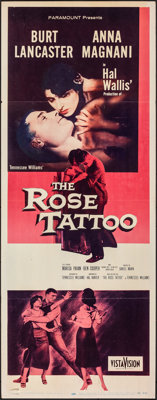 """The Rose Tattoo & Other Lot (Paramount, 1955). Folded, Overall: Fine/Very Fine. Insert (14"""" X 36"""") & O..."""