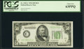 Fr. 2102-C $50 1934 Dark Green Seal Federal Reserve Note. PCGS Choice New 63PPQ