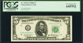 Small Size:Federal Reserve Notes, Fr. 1963-K $5 1950B Federal Reserve Note. PCGS Very Choice New 64PPQ.. ...