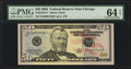 Small Size:Federal Reserve Notes, Fr. 2128-G* $50 2004 Federal Reserve Star Note. PMG Choice Uncirculated 64 EPQ.. ...