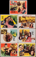 """Movie Posters:Academy Award Winners, Gone with the Wind (MGM, R-1947). Very Fine-. Title Lobby Card & Lobby Cards (6) (11"""" X 14""""). Academy Award Winners.. ... (Total: 7 Items)"""