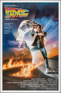 """Back to the Future (Universal, 1985). Rolled, Very Fine+. One Sheet (27"""" X 41""""). Drew Struzan Artwork. Science..."""