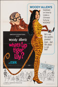 """Movie Posters:Comedy, What's Up, Tiger Lily? (American International, 1966). Folded, Very Fine-. One Sheet (27"""" X 41"""") & Lobby Card Set of ..."""