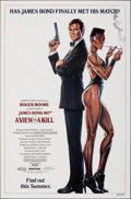 "Movie Posters:James Bond, A View to a Kill (United Artists, 1985). Rolled, Very Fine-. One Sheet (27"" X 41"") DS Advance, Dan Gouzee Artwork. James Bon..."
