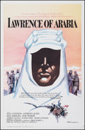 "Movie Posters:Academy Award Winners, Lawrence of Arabia (Columbia, 1962). Fine on Linen. One Sheet (27"" X 41""). Roadshow Style B. Academy Award Winners.. ..."