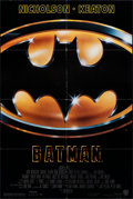 "Movie Posters:Action, Batman (Warner Bros., 1989). Folded, Fine/Very Fine. One Sheet (27"" X 40.5"") SS. Action.. ..."