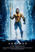 """Movie Posters:Action, Aquaman (Warner Bros., 2018). Rolled, Near Mint. One Sheet (27"""" X 40"""") DS Advance. Action.. ..."""
