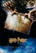 """Movie Posters:Fantasy, Harry Potter and the Sorcerer's Stone (Warner Bros., 2001). Rolled, Very Fine+. One Sheet (27"""" X 40""""). DS Advance. Fantasy...."""