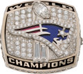 Football Collectibles:Others, 2001 New England Patriots Super Bowl XXXVI Championship Ring....
