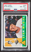 Baseball Cards:Singles (1960-1969), 1960 Topps Stan Musial #250 PSA NM-MT+ 8.5....