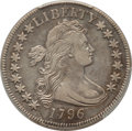 Early Half Dollars, 1796 50C 16 Stars, O-102, T-2, R.6, Amato 221, VF35 PCGS....