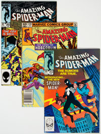 The Amazing Spider-Man Group of 22 (Marvel, 1980-85) Condition: Average VF.... (Total: 22 )