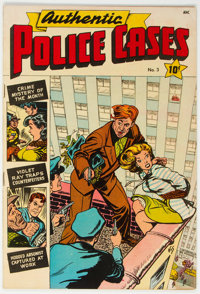 Authentic Police Cases #3 (St. John, 1948) Condition: VG+
