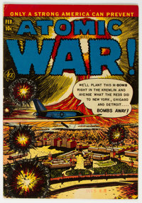 Atomic War! #3 (Ace, 1953) Condition: VG/FN
