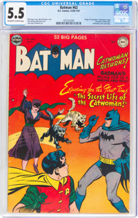 Batman #62 (DC, 1950) CGC FN- 5.5 Off-white to white pages