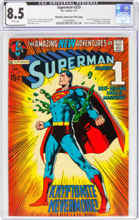 Superman #233 Murphy Anderson File Copy (DC, 1971) CGC VF+ 8.5 White pages
