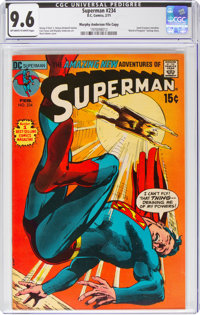 Superman #234 Murphy Anderson File Copy (DC, 1971) CGC NM+ 9.6 Off-white to white pages