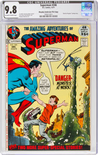 Superman #246 Murphy Anderson File Copy (DC, 1971) CGC NM/MT 9.8 Off-white to white pages