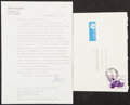 Autographs:Others, 1984 Lech Walesa Signed Typed Letter....