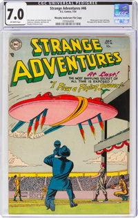Strange Adventures #46 Murphy Anderson File Copy (DC, 1954) CGC FN/VF 7.0 Off-white pages
