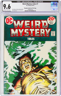 Weird Mystery Tales #7 Murphy Anderson File Copy (DC, 1973) CGC NM+ 9.6 Off-white to white pages
