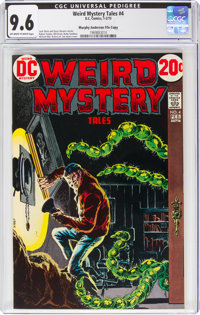 Weird Mystery Tales #4 Murphy Anderson File Copy (DC, 1973) CGC NM+ 9.6 Off-white to white pages