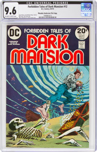 Forbidden Tales of Dark Mansion #12 Murphy Anderson File Copy (DC, 1973) CGC NM+ 9.6 Off-white to white pages