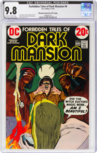Forbidden Tales of Dark Mansion #9 Murphy Anderson File Copy (DC, 1973) CGC NM/MT 9.8 Off-white to white pages