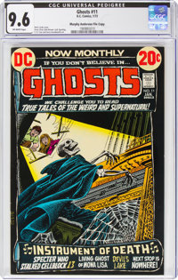 Ghosts #11 Murphy Anderson File Copy (DC, 1973) CGC NM+ 9.6 Off-white pages