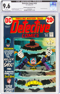 Detective Comics #433 Murphy Anderson File Copy (DC, 1973) CGC NM+ 9.6 White pages