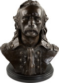 Western Expansion:Cowboy, George Armstrong Custer: Limited Edition Bronze Bust. ...